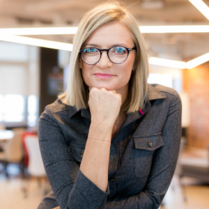 KATARZYNA WIERZBOWSKA<br>Co-Founder | CEO | Prezeska
